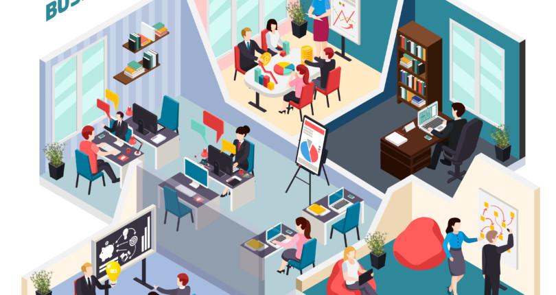 Ποιοι είναι οι τύποι ευέλικτων χώρων εργασίας;